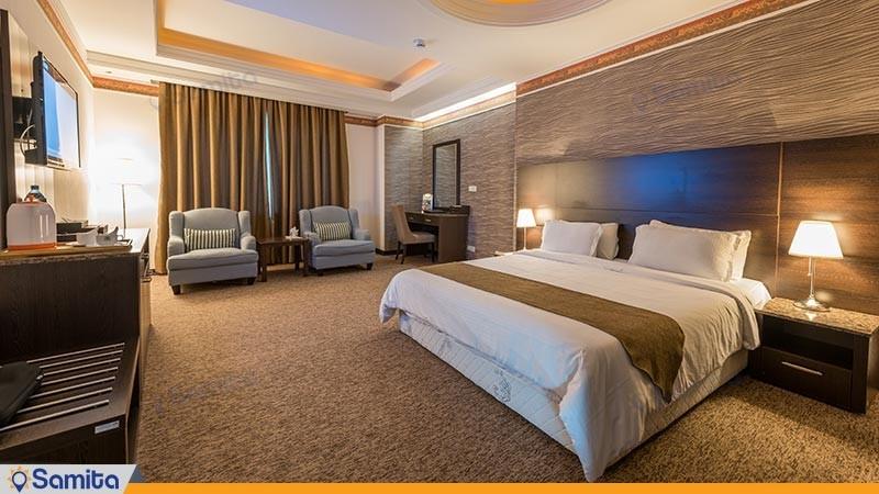 اتاق دو تخته دبل لوکس هتل سورینت مریم