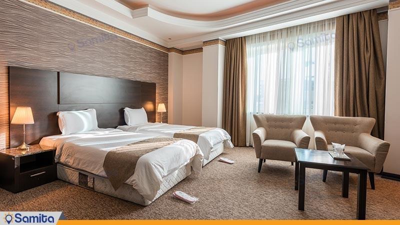اتاق دو تخته توئین لوکس هتل سورینت مریم