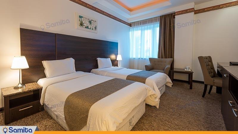 اتاق دو تخته توئین هتل سورینت صدف