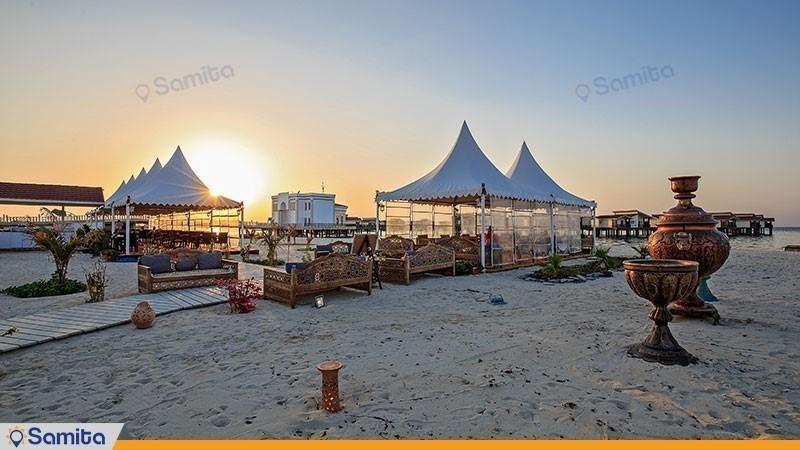 Toranj Marine Hotel Beach Restaurant