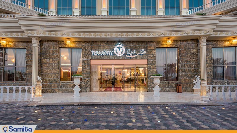 ورودی هتل ویدا