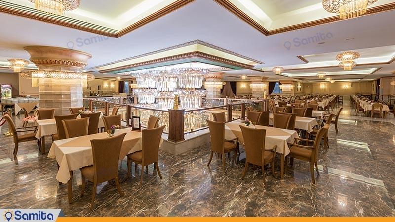 رستوران هتل ویدا