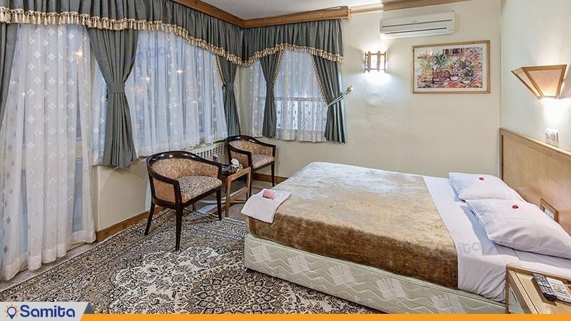اتاق دبل هتل جهانگردی لاهیجان