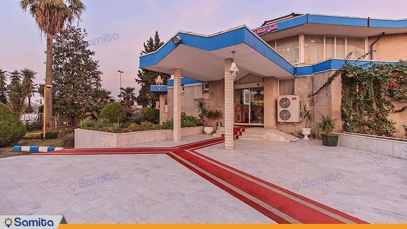 نمای ساختمان هتل جهانگردی لاهیجان