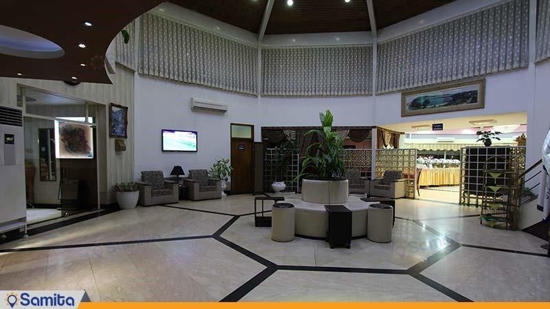 لابی هتل جهانگردی لاهیجان