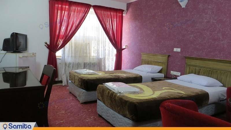 اتاق دو تخته هتل جهانگردی لار