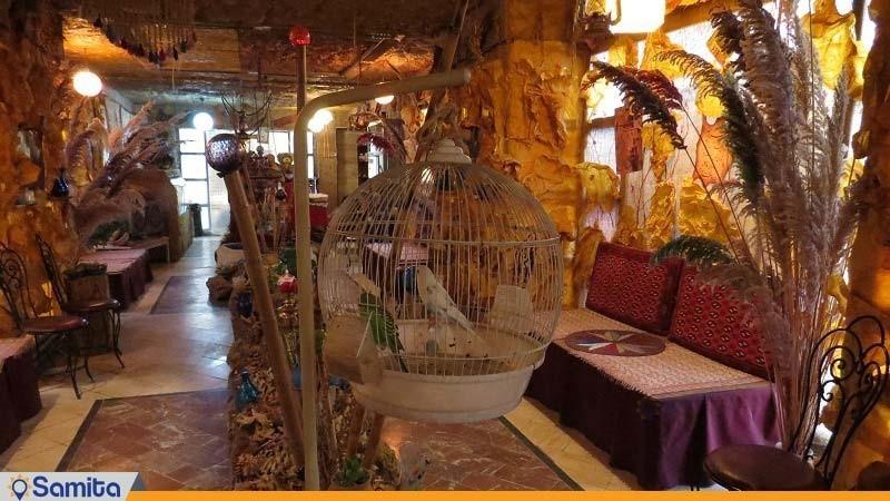 چایخانه سنتی هتل جهانگردی آبگرم