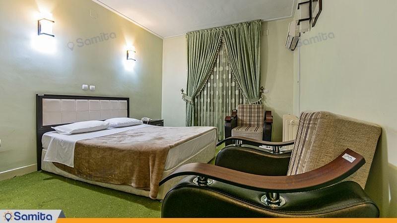 اتاق دبل هتل جهانگردی ماکو