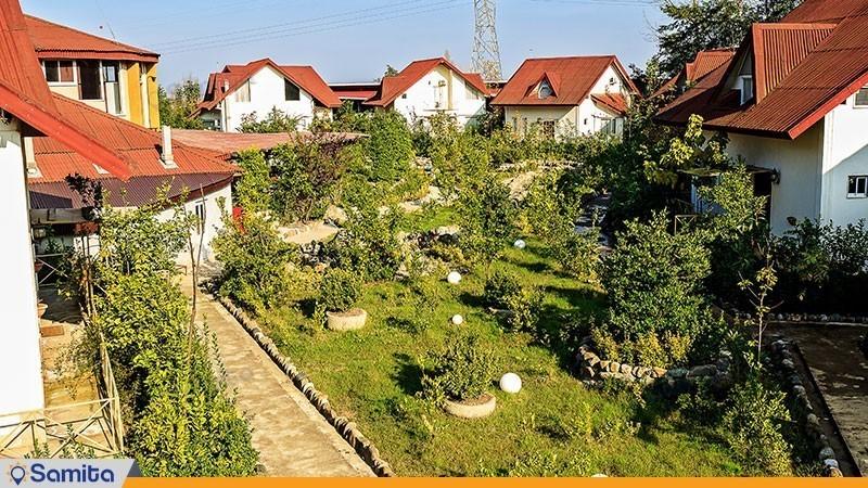 مساحات خضراء فندق الملل شاندرمن