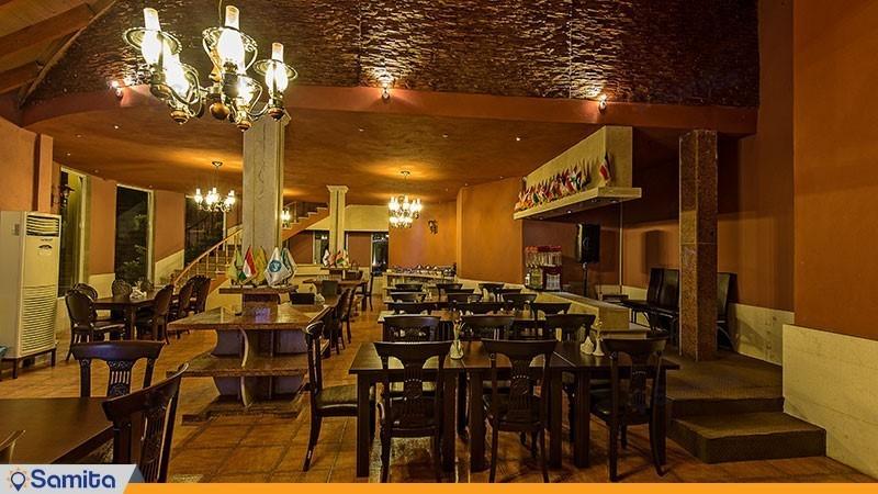 رستوران هتل ملل شاندرمن