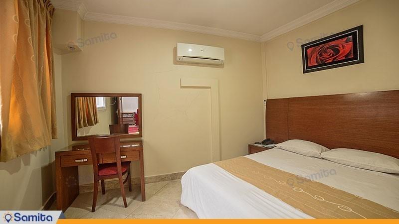 آپارتمان یک خوابه پنج نفره هتل آپارتمان افرا