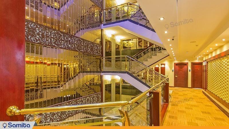 راهرو هتل الماس