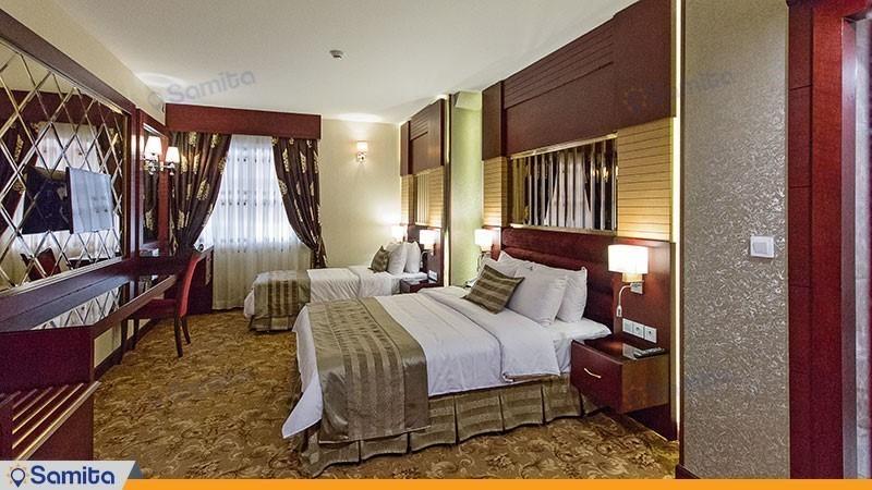 اتاق سه تخته هتل الماس