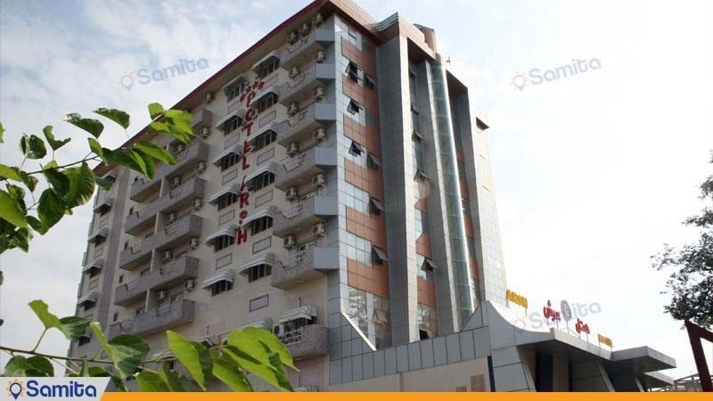 نمای ساختمان هتل عرش