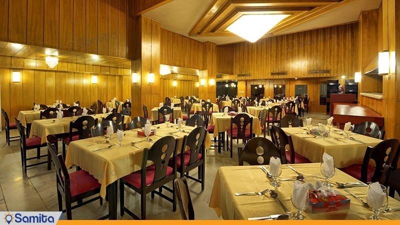 رستوران هتل آسیا
