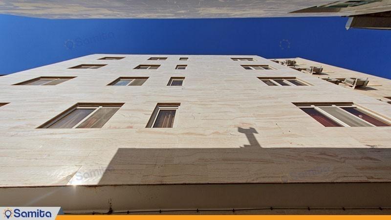نمای ساختمان هتل آپارتمان آیسان