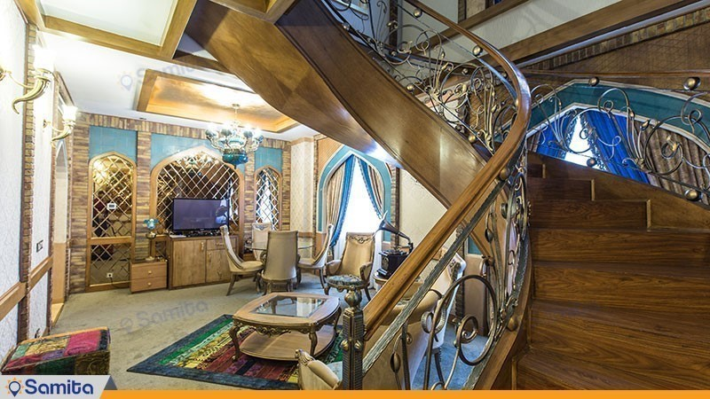 اتاق دوبلکس ایران باستان هتل مجلل درویشی