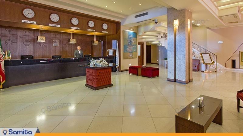 پذیرش هتل فردوس