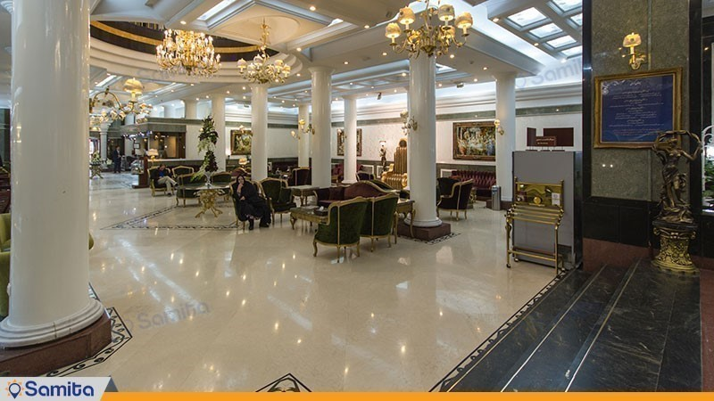 Mashhad Ghasr International Hotel Lobby