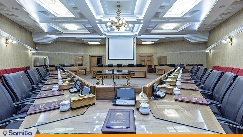 اتاق کنفرانس هتل بین المللی قصر طلایی