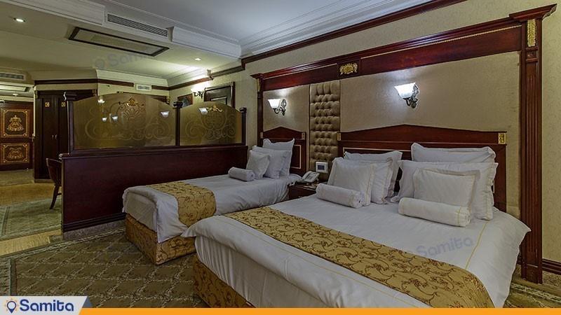 اتاق دبل لوکس هتل بین المللی قصر طلایی