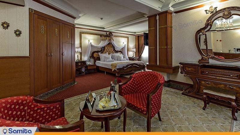 اتاق پرنسس هتل بین المللی قصر طلایی