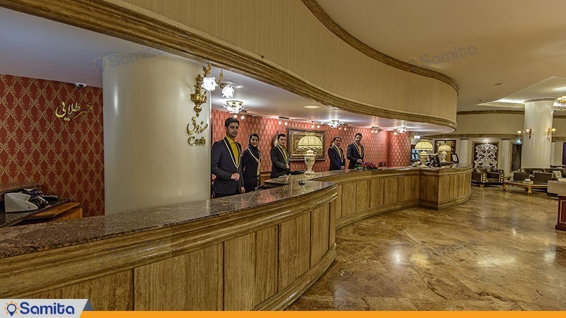 پذیرش هتل بین المللی قصر طلایی