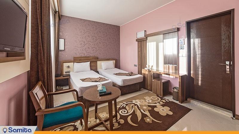 اتاق دو تخته هتل هاترا