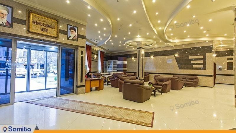 ورودی هتل هلیا مشهد
