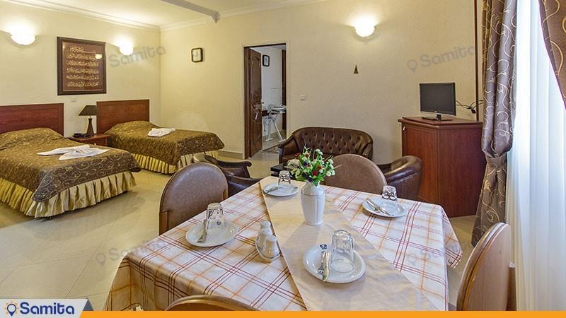 اتاق پنج تخته هتل هلیا مشهد