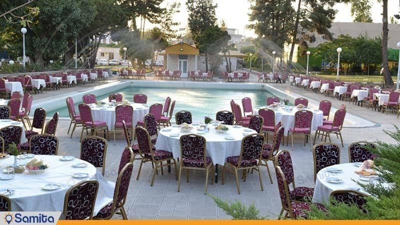 رستوران فضای باز هتل هما یک