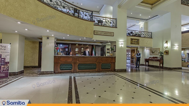 پذیرش هتل جواد