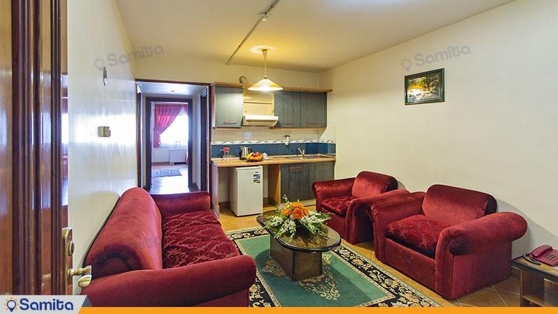 آپارتمان یک خوابه هتل خانه سبز