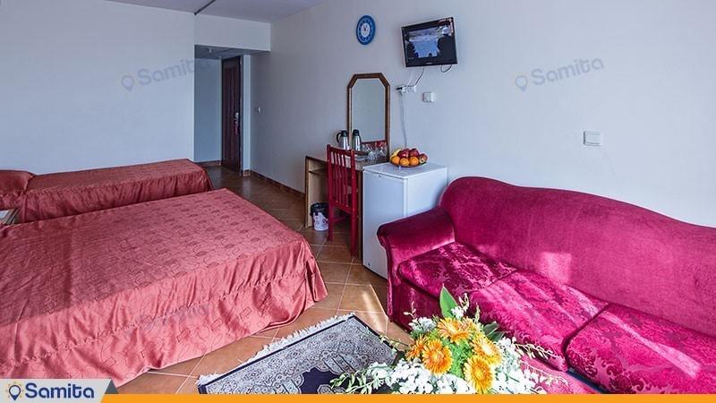 اتاق سه نفره هتل خانه سبز