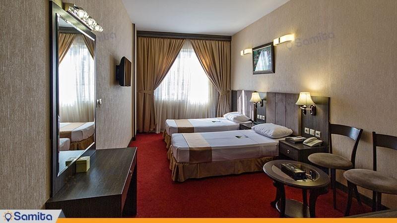 اتاق دو تخته هتل کیانا