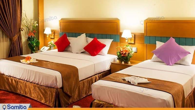 اتاق سه تخته هتل مدینة الرضا