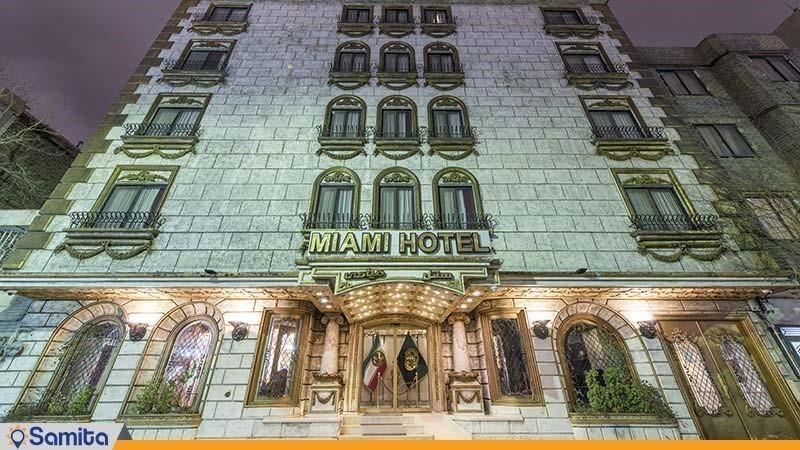 نمای ساختمان هتل میامی