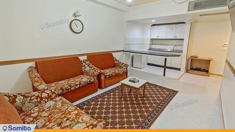 آپارتمان یک اتاق خوابه هتل نور