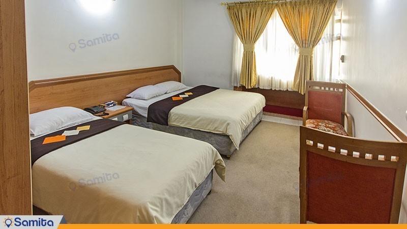 اتاق سه تخته هتل نور