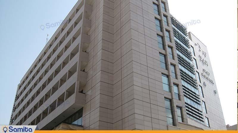 نمای ساختمان هتل آپارتمان امید