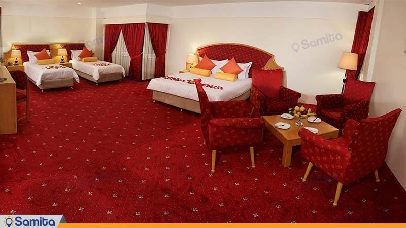 اتاق امپریال هتل پردیسان