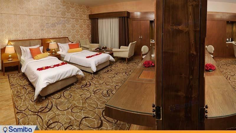 اتاق کانکت لوکس هتل پردیسان