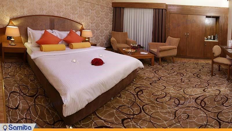 اتاق دبل لوکس هتل پردیسان
