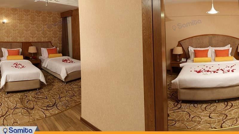 سوئیت لوکس هتل پردیسان