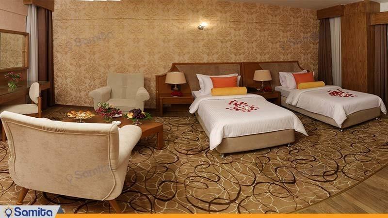 اتاق دو تخته لوکس هتل پردیسان