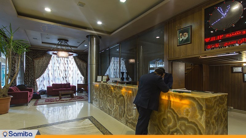 پذیرش هتل پارمیدا