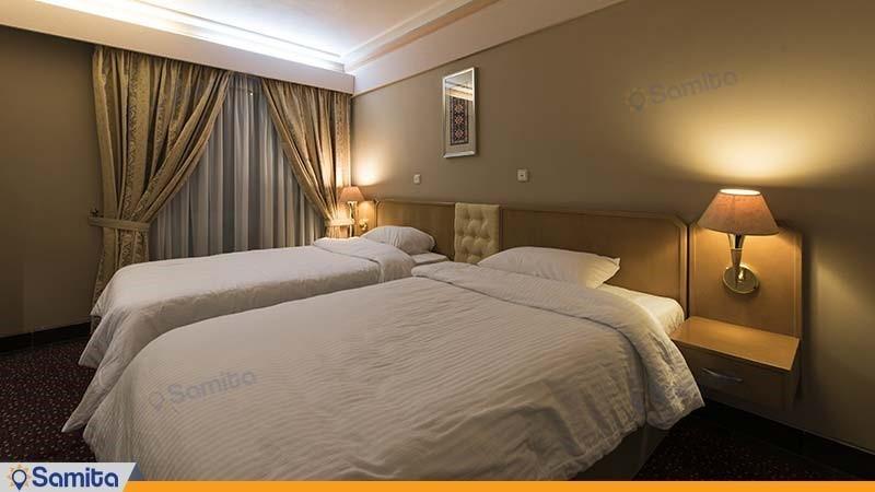 اتاق دو تخته هتل پارس مشهد