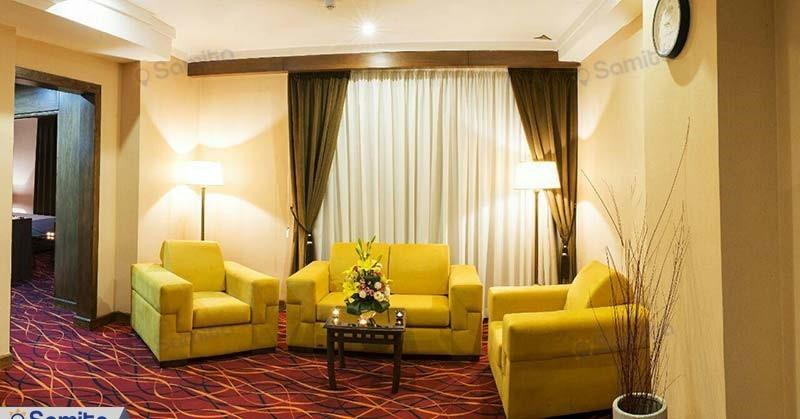 سوئیت یک خوابه هتل پارسیس