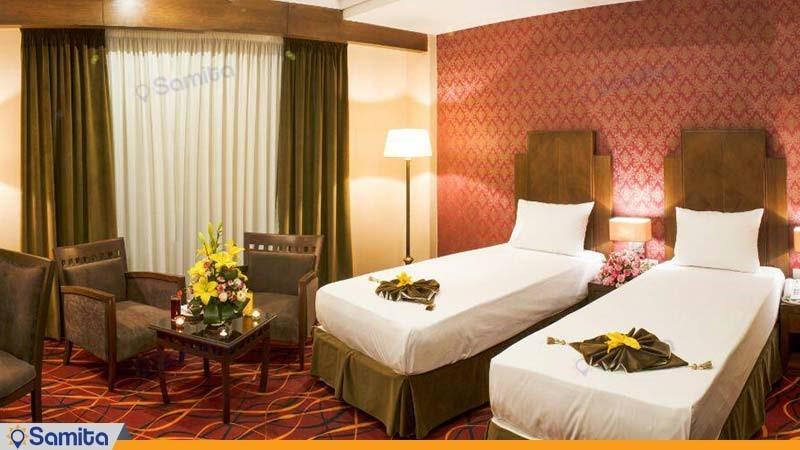 اتاق دو تخته هتل پارسیس