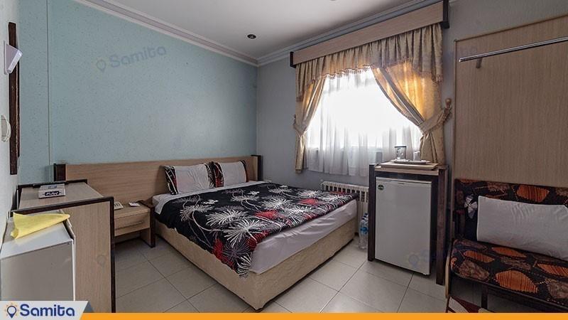 اتاق دبل هتلی هتل آپارتمان قصر آیدین